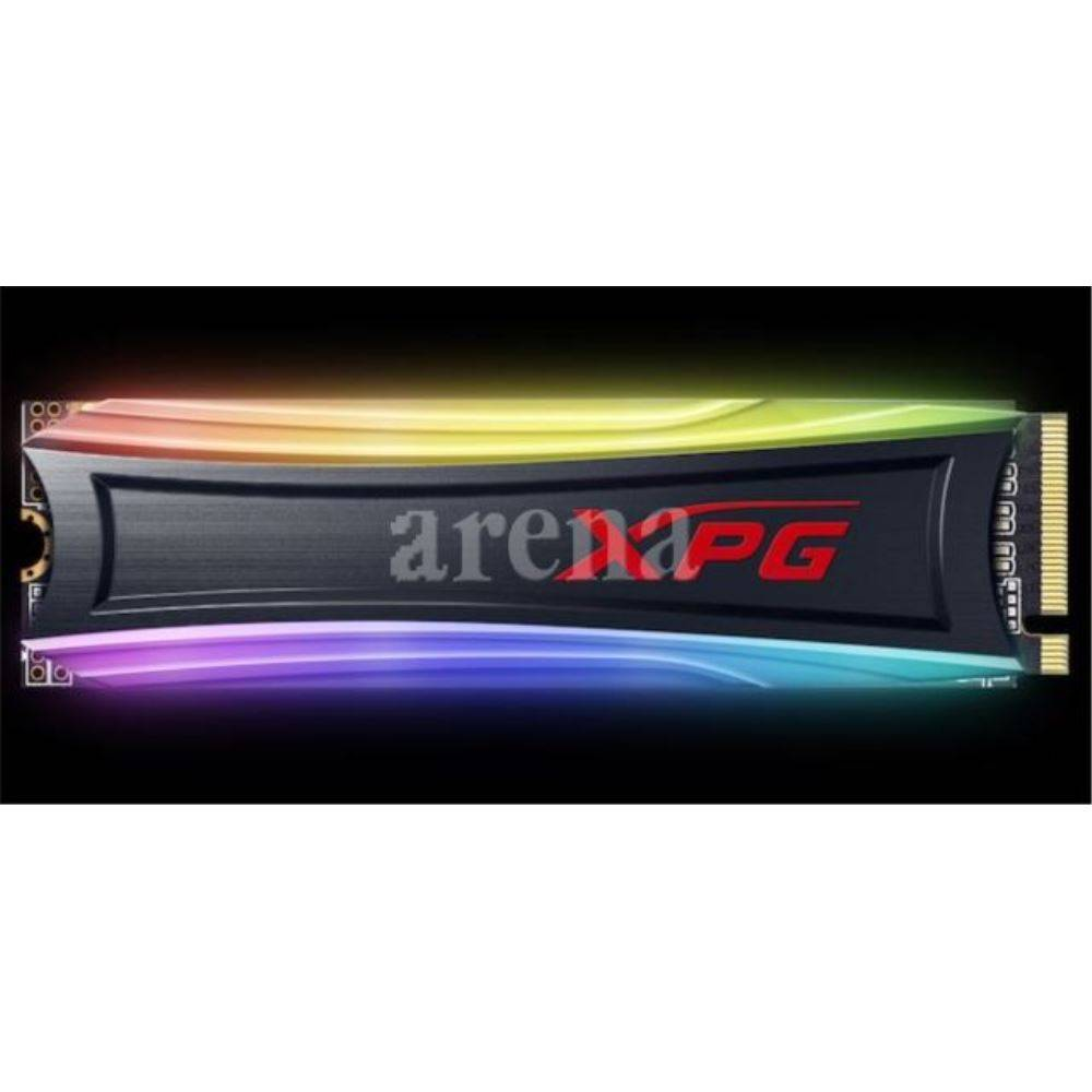 HDD 512GB XPG S40G RGB PCIe M2 3500-1900MBs FLASH SSD AS40G-512GT