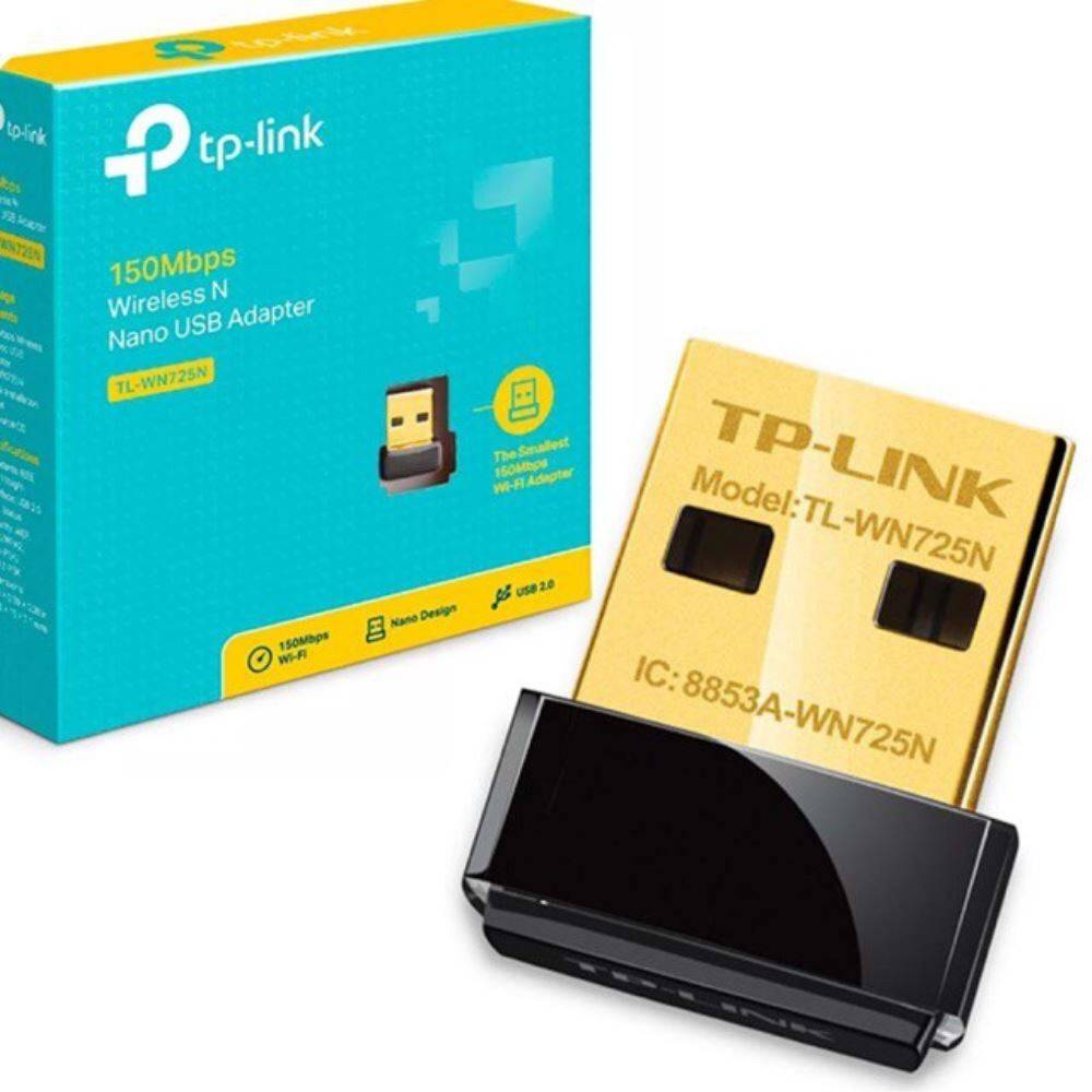 ETH TP-LINK TL-WN725N 150MBPS WIRELESS N NANO USB ADAPTER