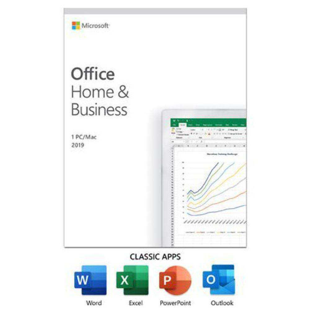 MS OFFICE 2019 HOME BUSINESS TR KUTU T5D-03334
